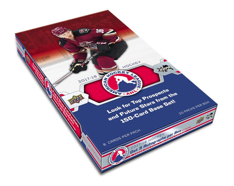2017-18 Upper Deck AHL Hockey Hobby Box