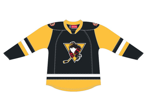 CCM Quicklite Wilkes-Barre/Scranton Penguins Customized Premier Black Jersey
