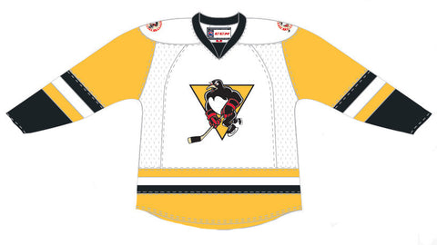 CCM Wilkes-Barre/Scranton Penguins Customized Premier White Jersey (16-17 Season)