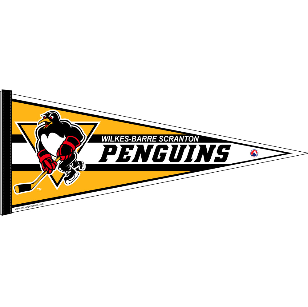 Wilkes- Barre/Scranton Penguins Team Pennant