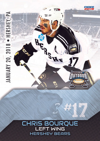 2018 AHL Outdoor Classic Trading Card Set