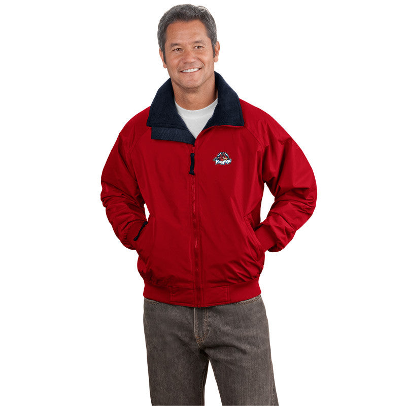 Rockford IceHogs Adult Challenger Jacket (red sidewalk sale)