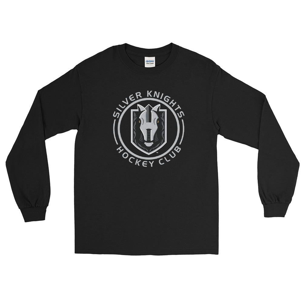 Henderson Silver Knights Adult Faceoff Long Sleeve Shirt