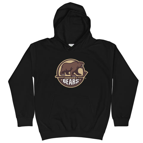Hershey Bears Youth Primary Logo Pullover Hoodie