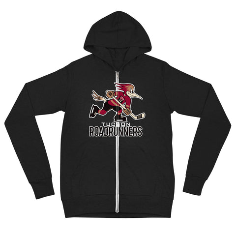 Tucson Roadrunners Adult Primary Logo Full Zip Hoodie