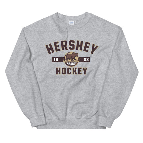 Hershey Bears Adult Established Crewneck Sweatshirt