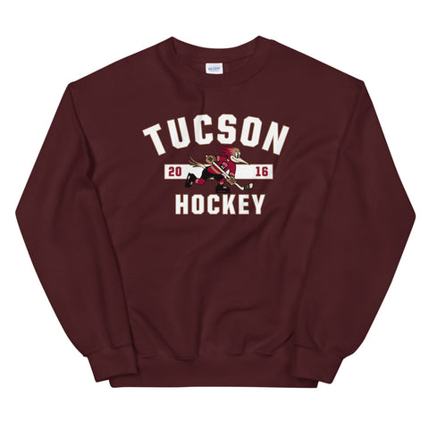 Tucson Roadrunners Adult Established Crewneck Sweatshirt