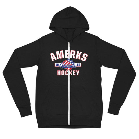 Rochester Americans Adult Established Full Zip Hoodie