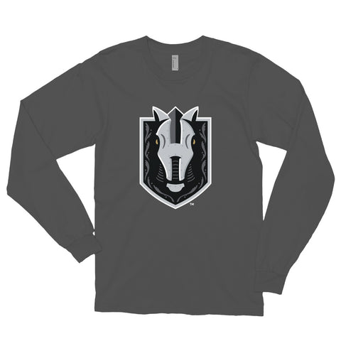 Henderson Silver Knights Adult Primary Logo Long Sleeve T-Shirt