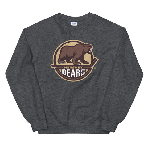 Hershey Bears Adult Primary Logo Crewneck Sweatshirt