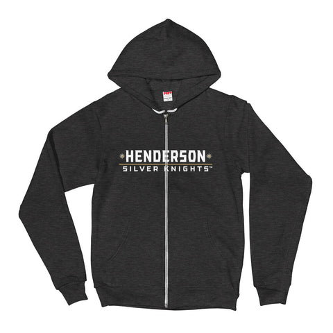 Henderson Silver Knights Adult Printed Alternate Logo Zip Up Hoodie