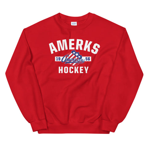Rochester Americans Adult Established Crewneck Sweatshirt