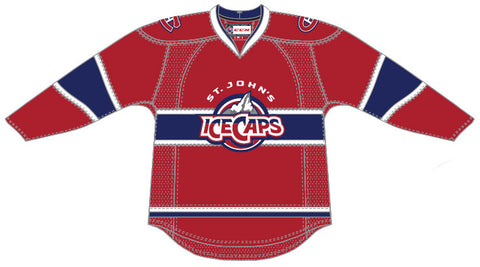 Reebok St. John's IceCaps Customized Premier Away Jersey (2015-16 Season)