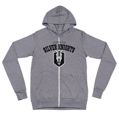 Henderson Silver Knights Adult Arch Full Zip Hoodie