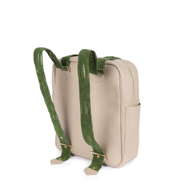 Aventura Mochila in Moss Cactus Leather - Tea & Tequila