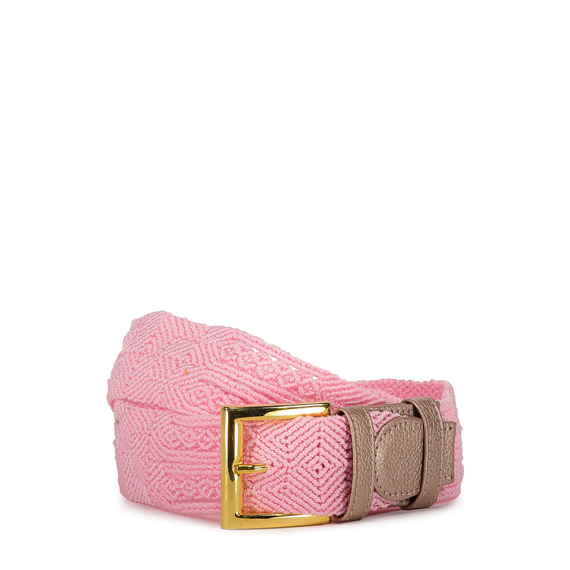 Rose Woven Belt - Tea & Tequila