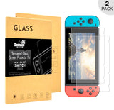 Zonmack Gaming Tempered Glass Nintendo Switch Screen Protector | Ultra-Thin, HD Clear, Anti-Fingerprint, 9H hardness | Protect Screen From Scratches