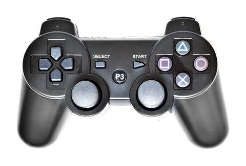 Wireless Controller for PS3 - Playstation 3 DualShock 3 Wireless Controllers Black USB Cord Included