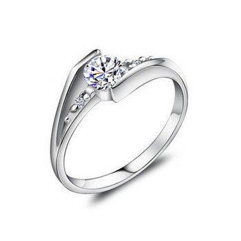 CZ 925 Sterling Silver Ring