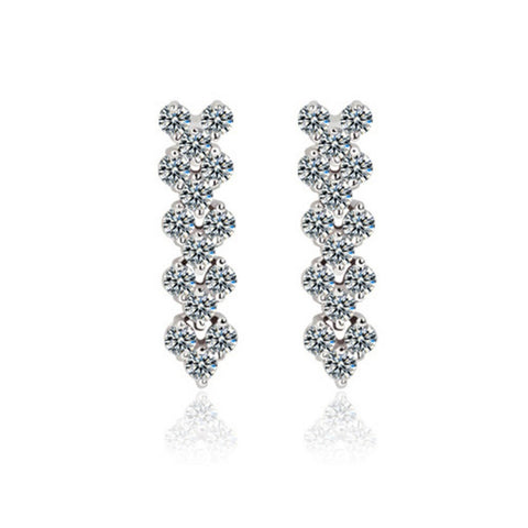 AAA Rome 5 Crystal Zirconia Earrings