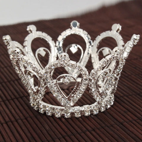 Waterdrop Style Wedding Bridal Rhinestone Crown Tiara