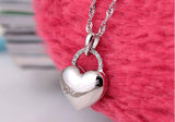 Locked Up Love 925 Sterling Silver Necklace