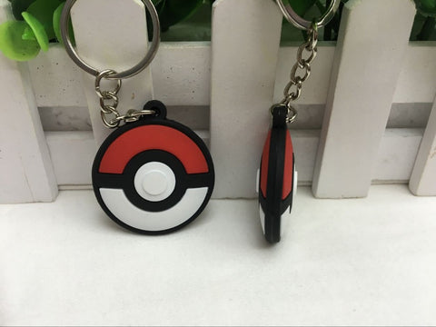 Pokeball Pokemon Keychain