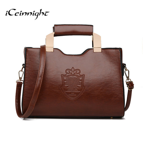Vintage Shoulder Handbag - 4 colors