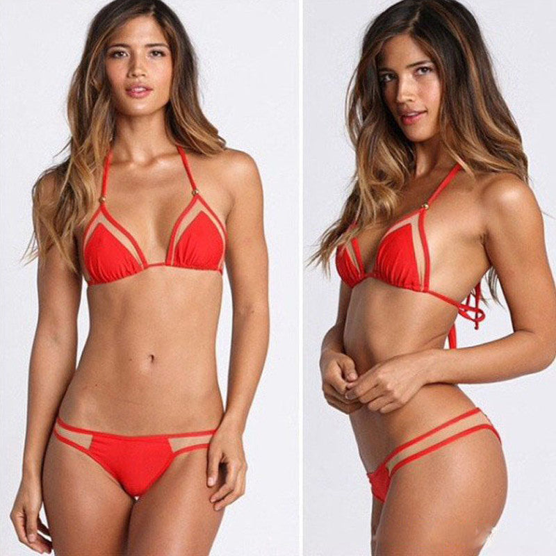Micro Triangle Brazilian Bikini Swimsuit - 5 colors