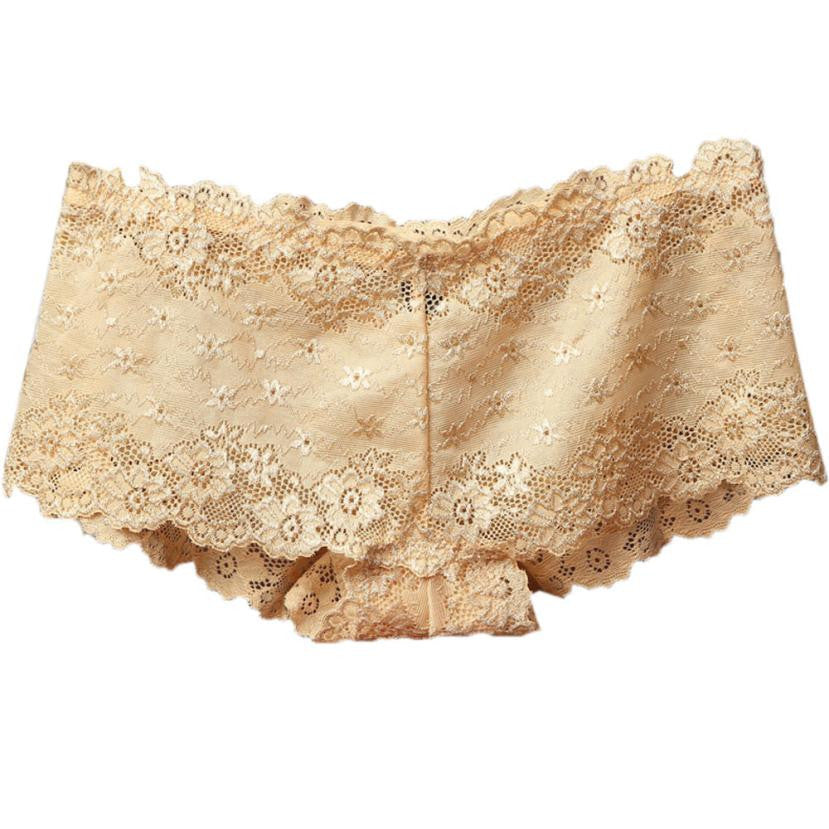 Lace Boyshort Panties - 8 Colors