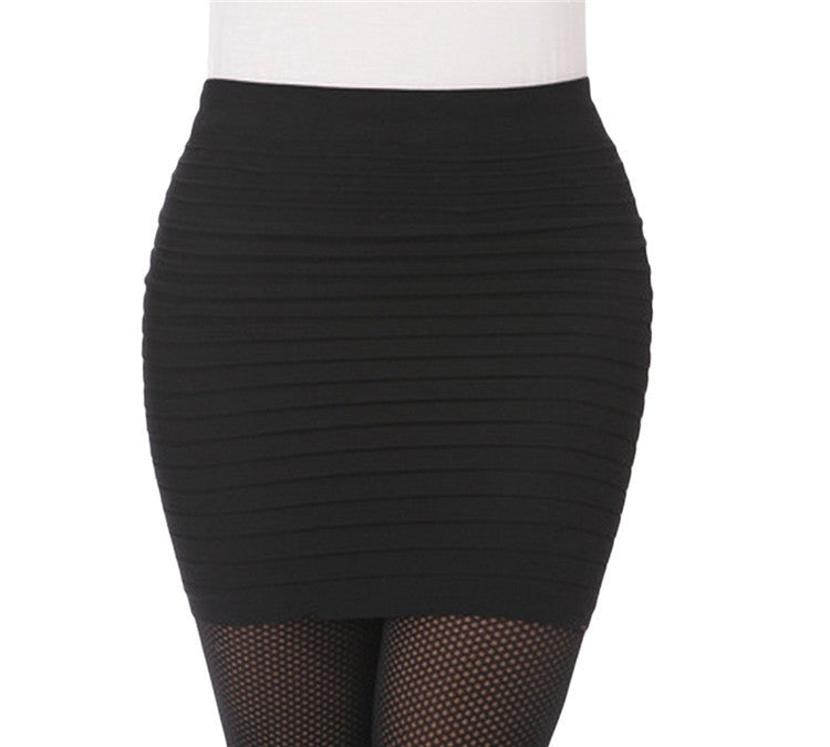 Pleated Short Skirt - 15 colots