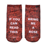 """IF YOU CAN READ THIS"" Socks Women - 17 styles"