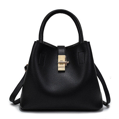 Ladies PU Leather Handbag - 3 colors