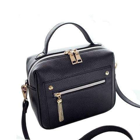 Retro Minimalist Crossbody Shoulder HandBag - 4 colors