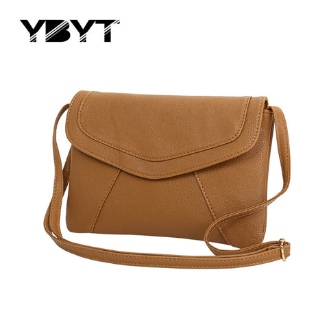 Leather Shoulder Crossbody Handbags - 7 colors