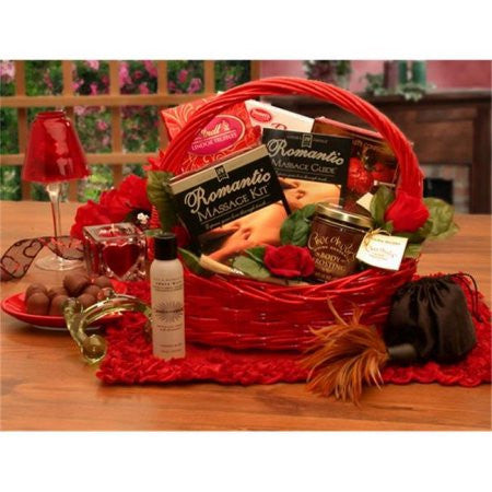 Massage Romance Gift Basket