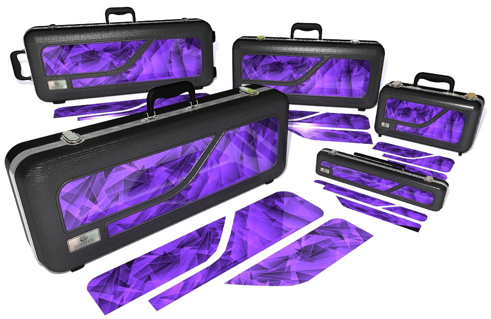 Purple Cosmic Glass