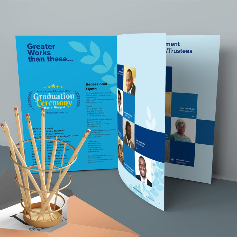 36pp Booklets (170gsm)