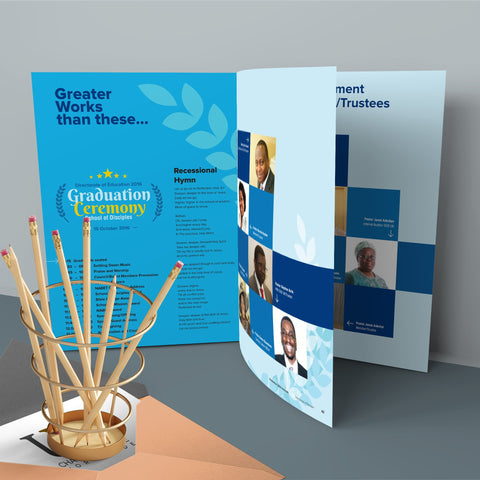 8pp Booklets (Heavier Cover)