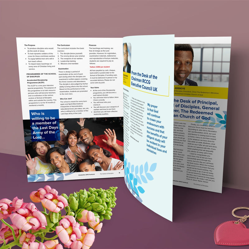 20pp Booklets (Gloss Laminated)