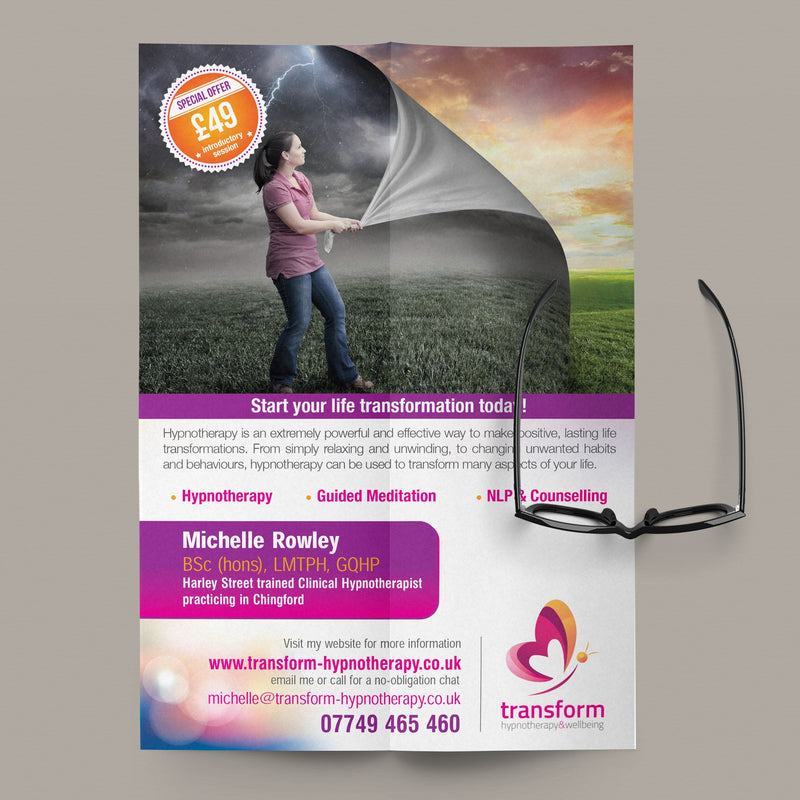 A3 Gloss Laminated Flyers (320gsm board)