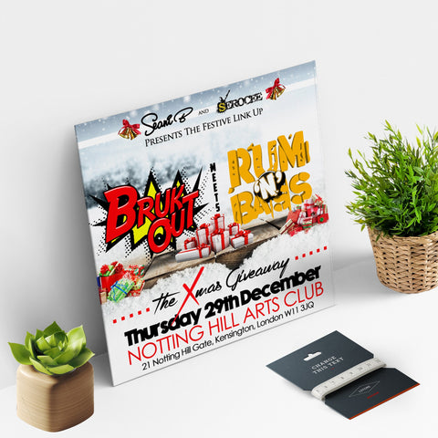 CD Size Flyers 300gsm