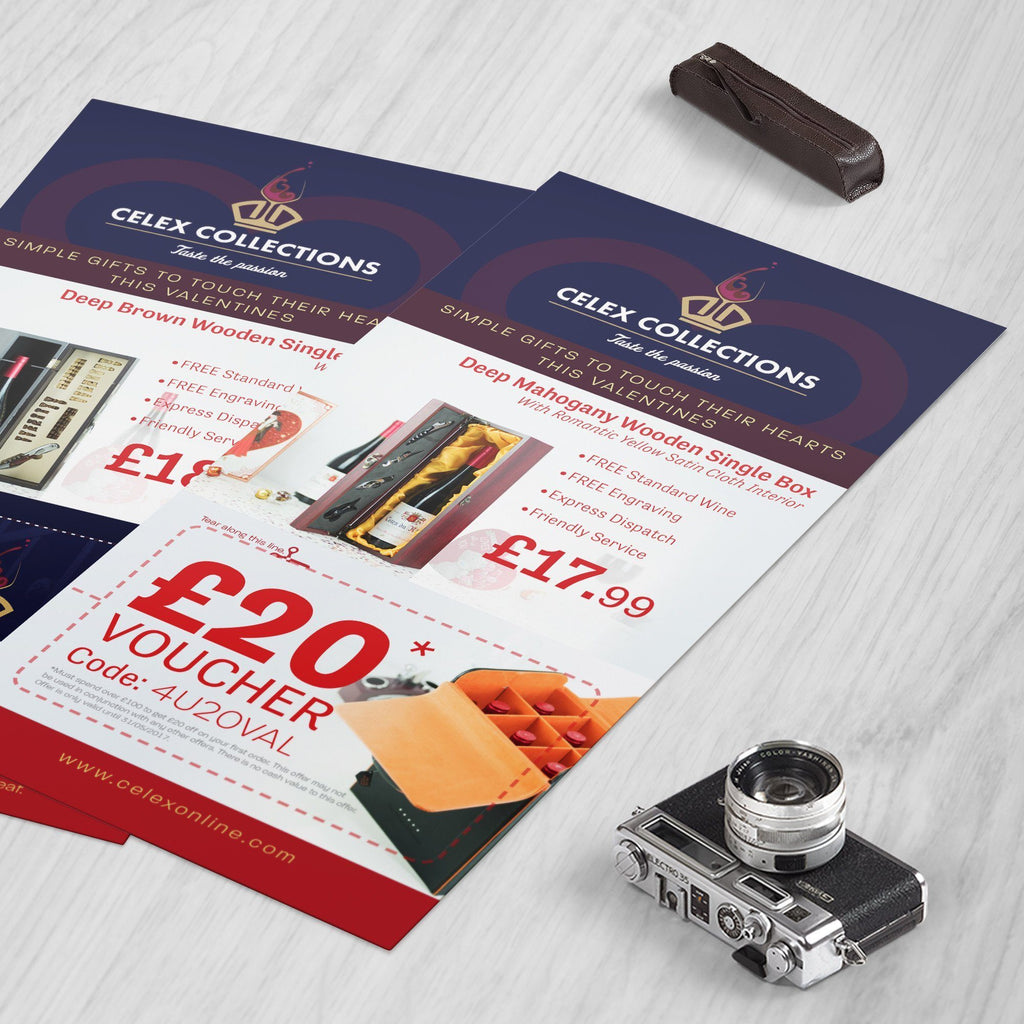DL Flyers 400gsm Matt Laminated
