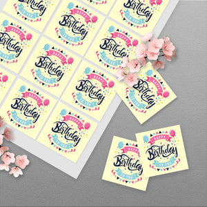 Square Sticker Sheets