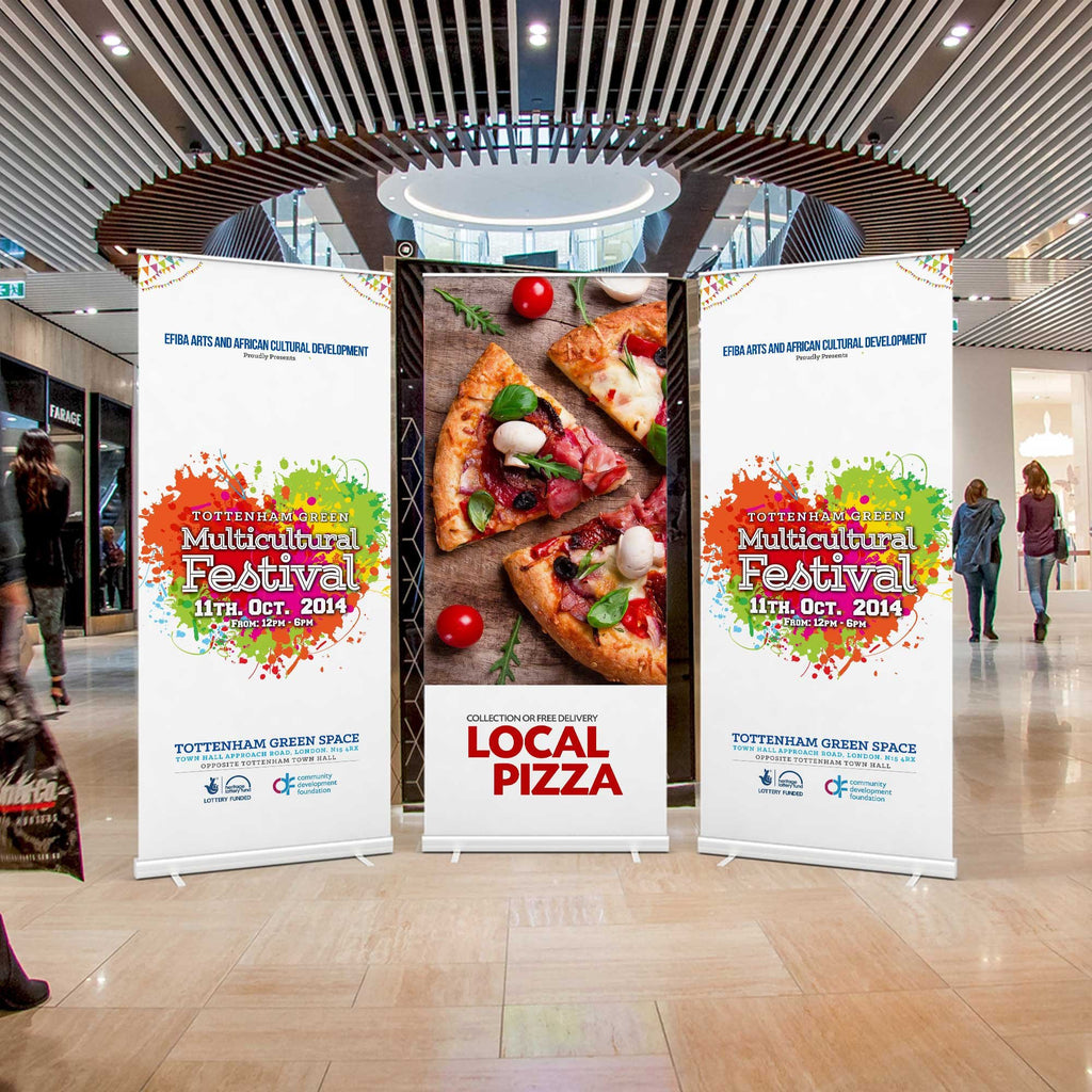 Roller Banners 1000mm x 2000mm (prices based on 1 artwork)
