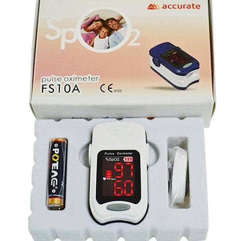 Fingertip Pulse Oximeter FS10A SPO2 Measurement FDA Approved