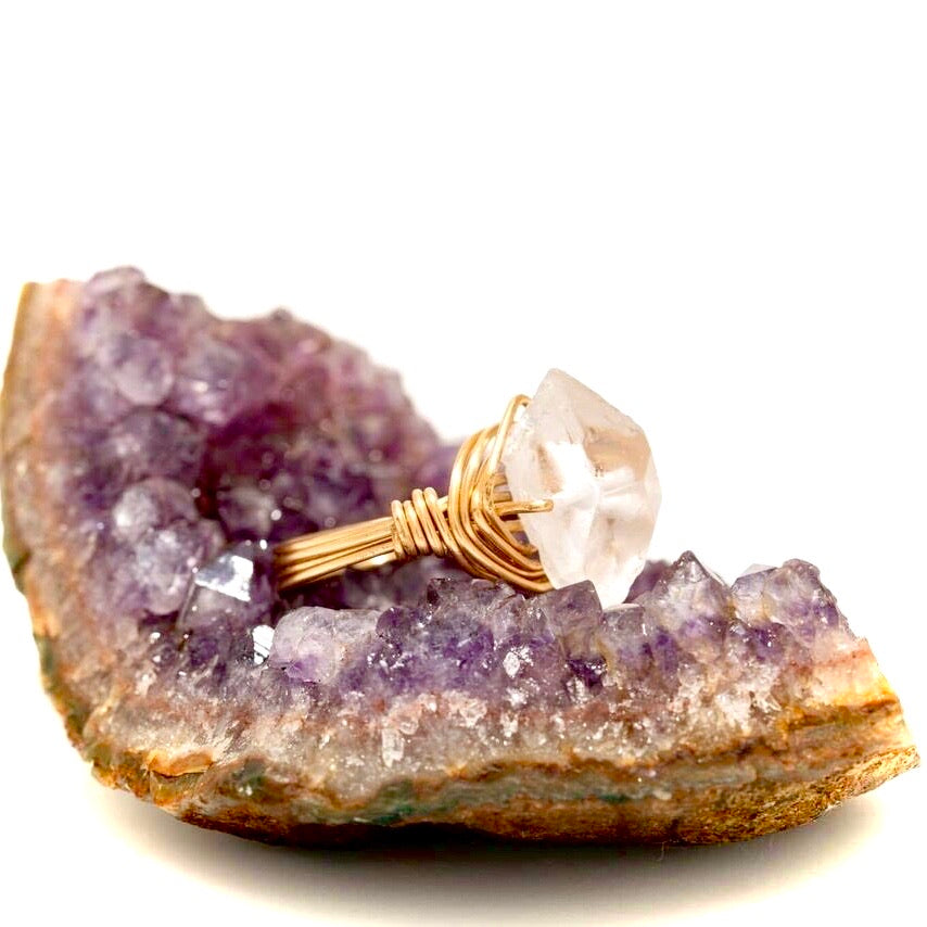 The Power Quartz Ring