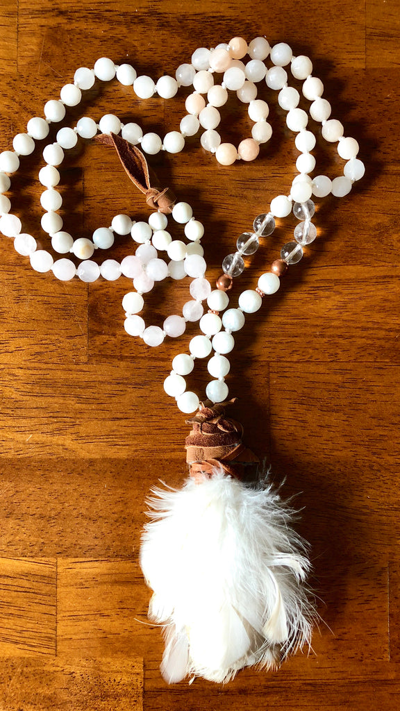 Feather Love Mala