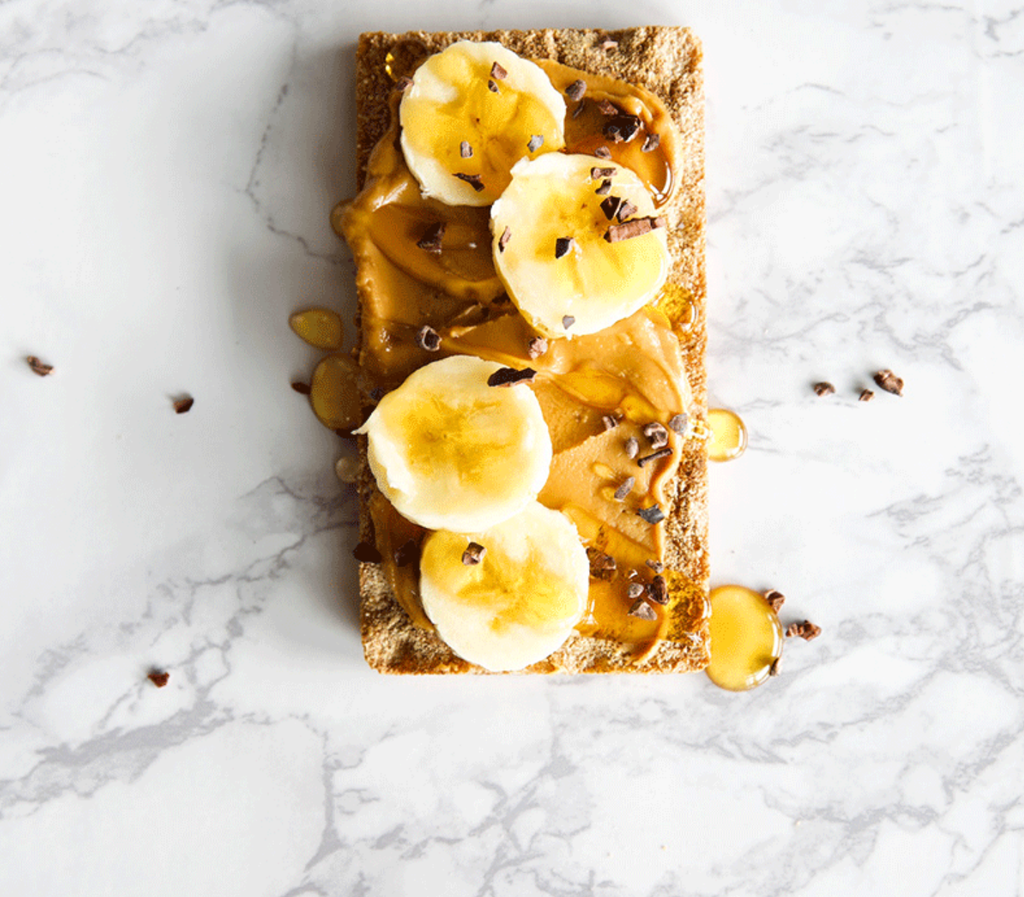 Almond Butter Breakfast Toasts... Oh MY!