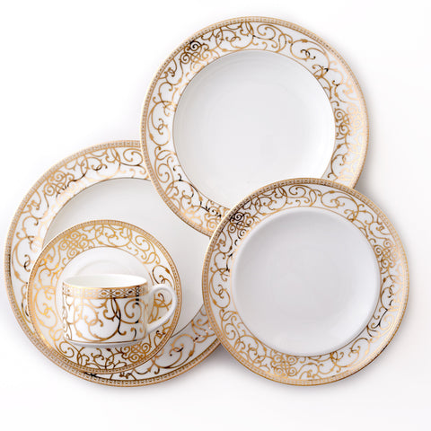 5 Piece-Athena 24kt Gold Collection